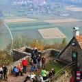 Madenburg - Blick auf Göcklingen