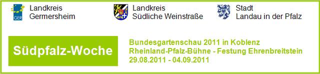 Südpfalz-Woche auf der Bundesgartenschau