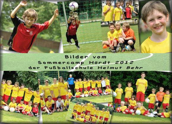 Fußball Sommercamp 2012 in Hördt