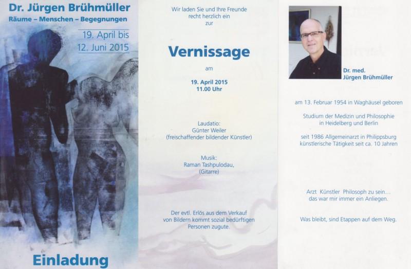 Jürgen Brühmüller in Westheim