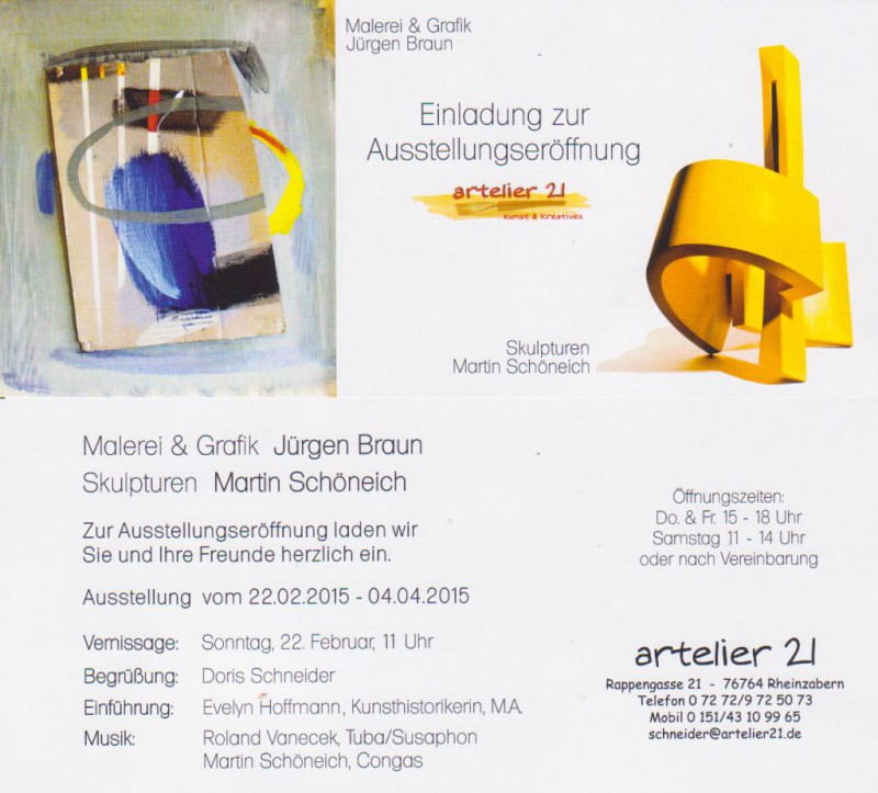 Vernissage im artelier21